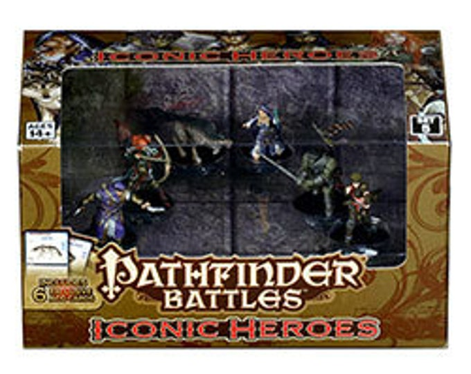 Pathfinder Battles: Iconic Heroes 5 Box - 71782 - WizKids