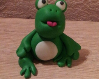Cute frog 6 cm. Exterior or interior decoration. For another story and collection.