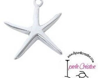 Sterling Silver 925 Starfish Charm pendant star charm