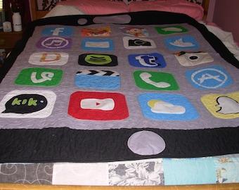 iPhone lap quilt