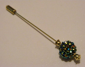 Aurora Borealis Stick Pin.........Lot 130