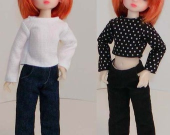 Denim Jeans -Corduroy Jeans - Kaye Wiggs Millie and similar Tiny BJDs