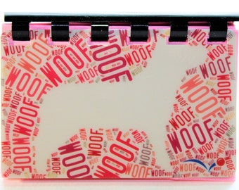 Woof Woof Doggie -- Gift Card Notebook