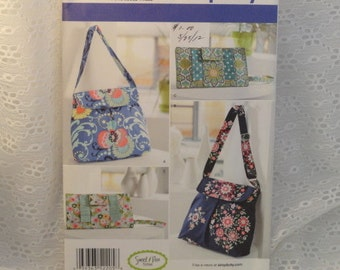 Sewing Pattern for Shoulder Bag Purses Wristlets New in Original Envelope