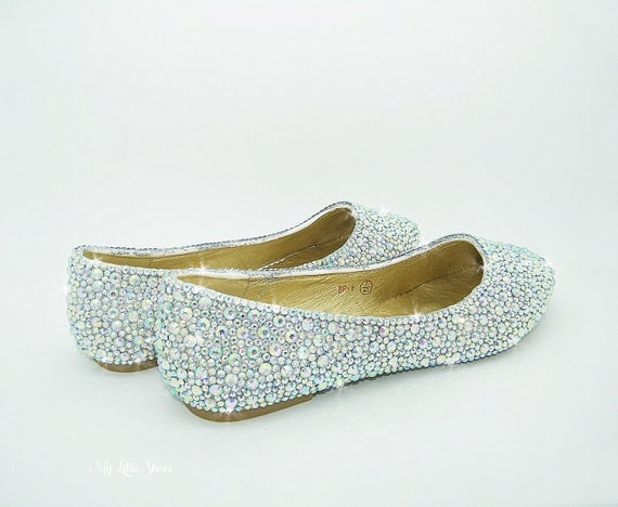 611277a3f75a ... of the Bride Carnival Gift for her Engagemnet Carnival C4WR7.  SKU4425416. Bling shoes ~ Flat dolly shoes ~ Wedding
