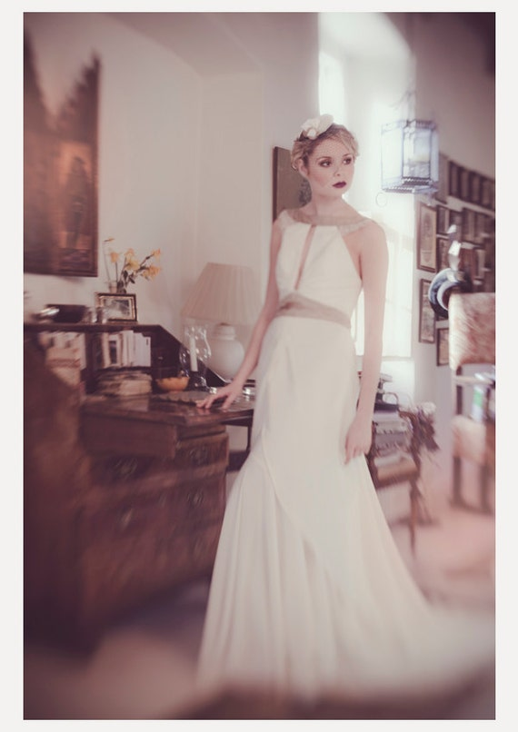 Clara 1920\'s Inspired Bridal Gown