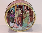Vintage Asian Biscuit Tin...