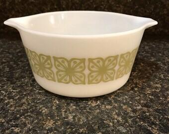 Pyrex Mixing Bowl Avacado Pattern
