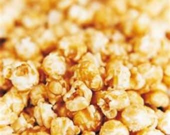 County Fair Caramel Popcorn Recipe...Handwritten Copy