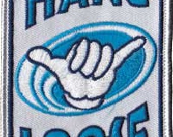 Hang Loose embroidered patch *Shaka*