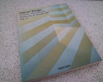 Uchida, Mitsuhashi, Nishioka and Studio 80...1990s vintage interior design book