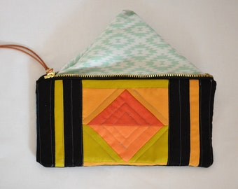 Small Quilted Pouch 2