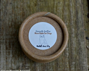 Smooth Sniffer nose balm, dogs, cats, pets, animals, hydrate, natural, cream, balm, renew, repair, smooth, pet products,