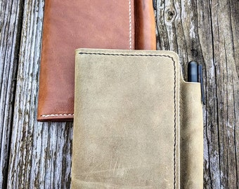 Various colors: Leather Field Notes Journals