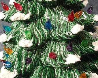 16 inch Ceramic Christmas Tree
