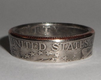 Sealed United States Bicentennial QUARTER 1976 coin ring