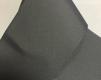 """3"""" Pewter Grey GROSGRAIN  Ribbon -100% Polyester  - Made in USA - 3 inch width - Ribbon for Bows / Dark Grey"""