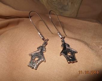 Birdhouse Earrings, What A Tweet Deal!