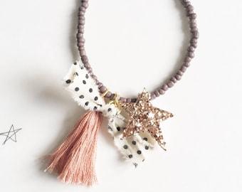 Whimsy Children's Tassel Necklace