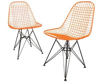 ONE Vintage Mid Century DKR Eames Chair by Herman Miller