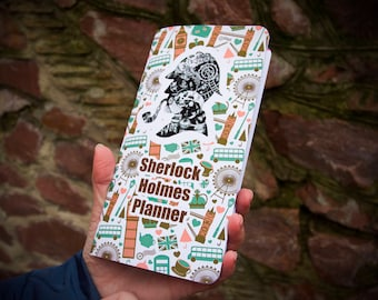 Regular Size Travelers Notebook Insert Holmes Notebook Travel Diary Travel to London Tourist Gift Sherlock Holmes Fan Gift Planner Quotes