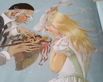 Water Babies Kingsley Johnstone vintage childrens book