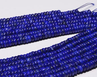 Natural Lapis Lazuli Royal Blue Natural Lapis Lazuli Gemstone Beads Jewelry Making Supplies