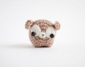 crochet deer plush - mini deer amigurumi