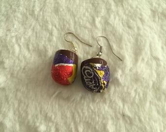 Creme Egg Earrings