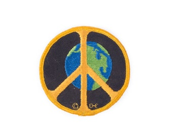 Peace Earth Patch