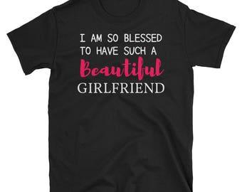 Cute Beautiful Girlfriend Gift T-Shirt