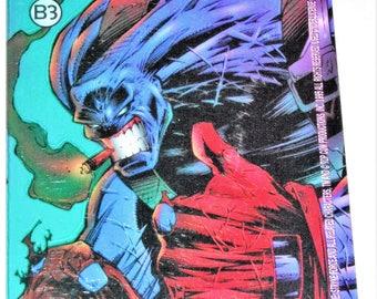 Cyberforce Black Anvil Collector Card, DC Universe Comic Card Promo Superhero Rare Collector Card, Codename Strykeforce, Cyberforce DC Comic
