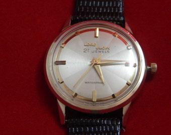 Vintage Lord Elgin 21 Jewels Wrist Watch