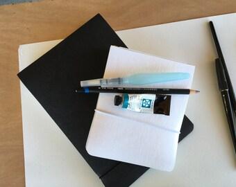 Basic Art journal landscape