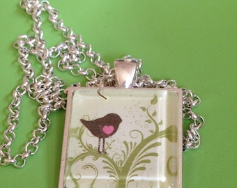 Little Bird Pendant Necklace