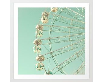 Nursery wall art, nursery decor, nursery prints, ferris wheel art, nursery art, nursery wall decor, boy nursery decor boy, pastel nursery