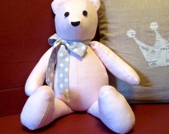 Linen Teddy Bear