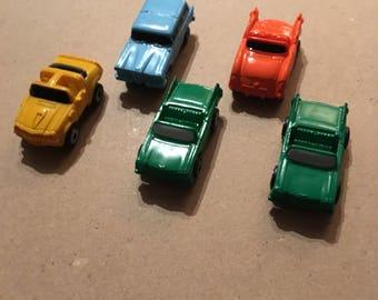 Micro Machine car lot