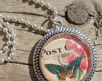 Butterfly Dreams Pendant Necklace