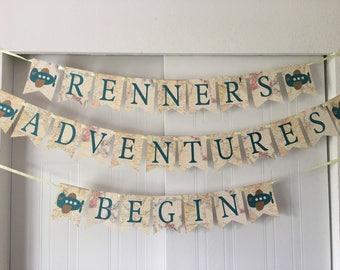 Adventure Begins Banner