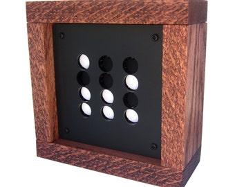 Flip Dot Binary Clock