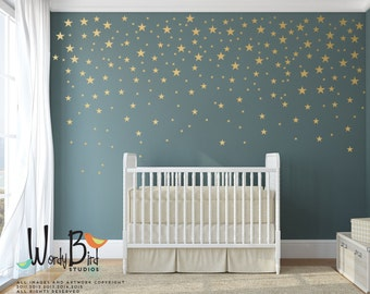 More Colors. Gold Stars Wall Decals ...