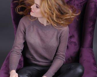 Gestrickte Pullover, Langarm-Pullover, oben