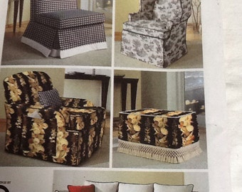 Simplicity Modern Slipcovers with Pillows Number 5127