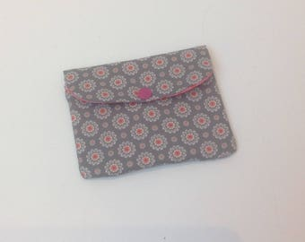 RETRO purse, padded with 2 pockets