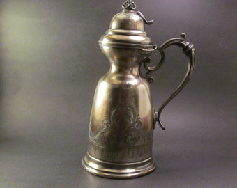 Vintage Maple Syrup Pitcher 1800's