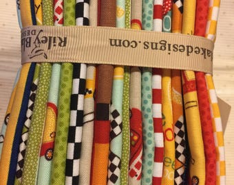 On Our Way, fat quarter bundle, by Riley Blake Design