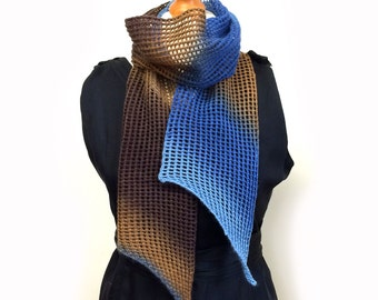 Lace Knitted Mesh Scarf