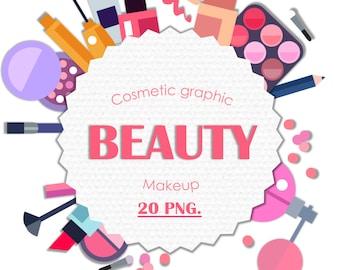 Clipart Beauty Makeup Set De Png Clip Art Pictures