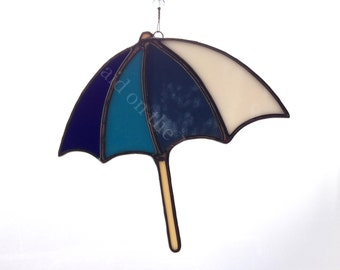 Stained Glass Beach Umbrella